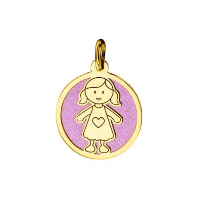 Médaille Petite Fille