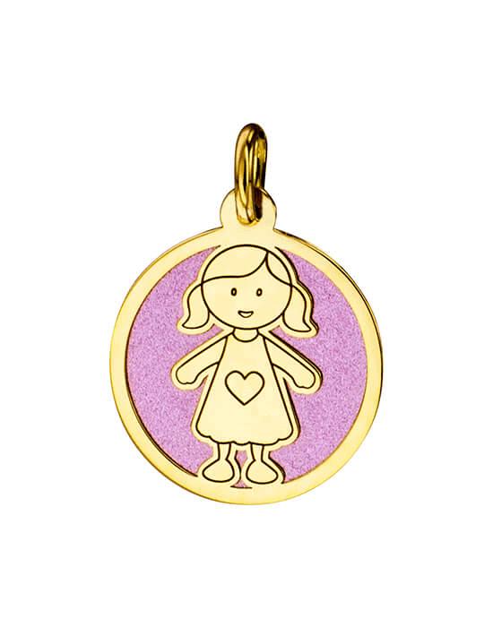 la-fabrique-d-or-Médaille Petite Fille