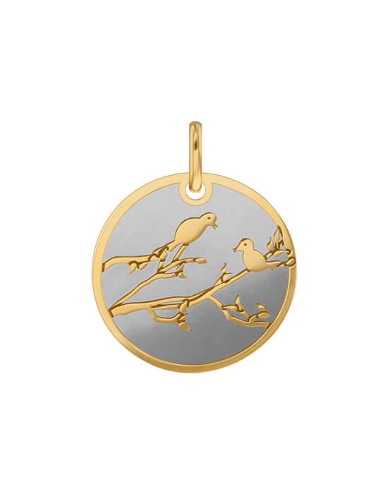 la-fabrique-d-or-Médaille Oiseaux