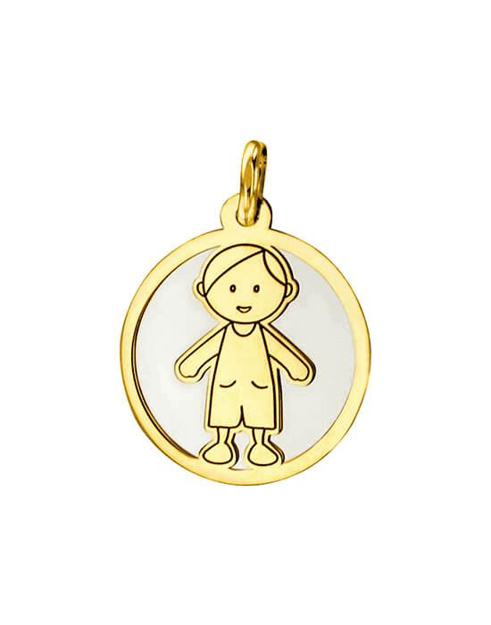la-fabrique-d-or-Médaille Petit Garçon