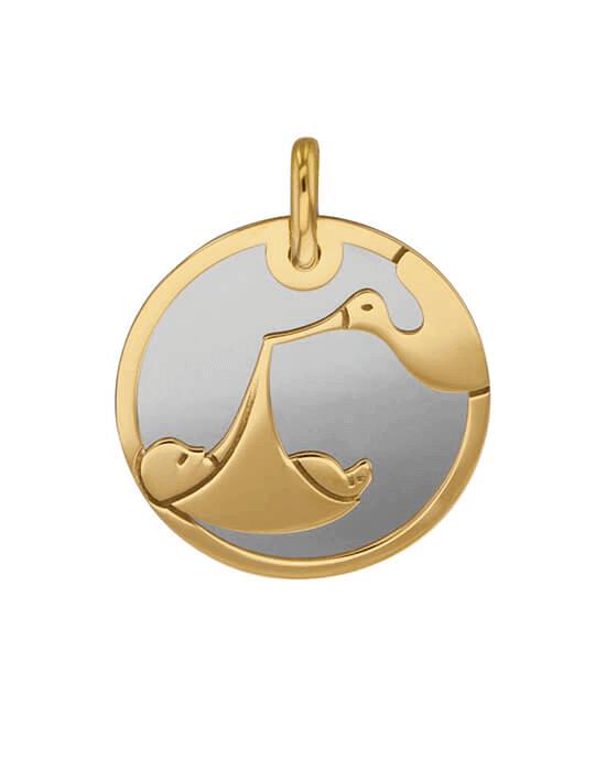 la-fabrique-d-or-Médaille Cigogne