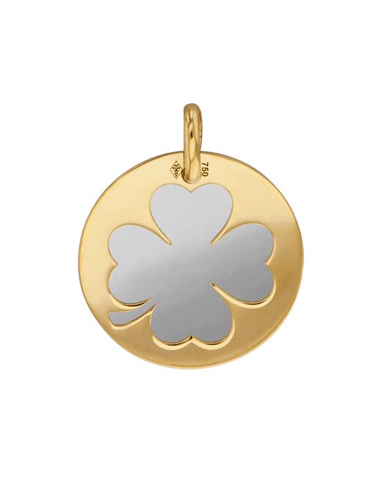 la-fabrique-d-or-Médaille Trèfle