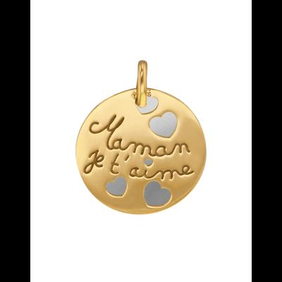 Médaille Maman je t'aime!