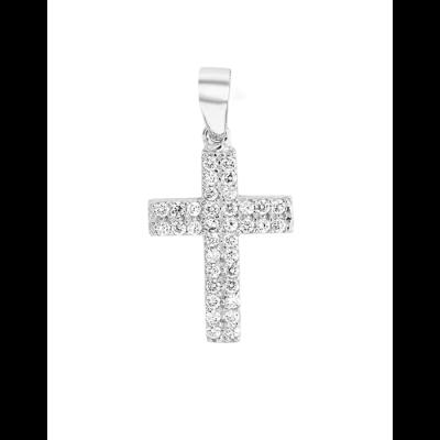 Croix sertie
