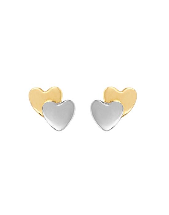 Boucles d'oreille 2 Cœurs