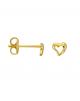 la-fabrique-d-or-Boucles d'oreille Cœur