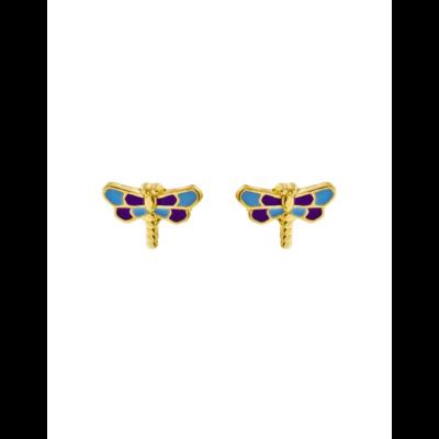 Boucles d'oreille Libellule