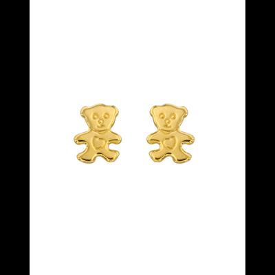 la-fabrique-d-or-Boucles d'oreille Petit Ourson