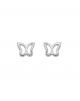 la-fabrique-d-or-Boucles d'oreilles Papillon