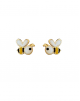 Boucles d'oreilles Petite Abeille