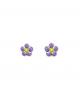 la-fabrique-d-or-Boucles d'Oreille fleurs