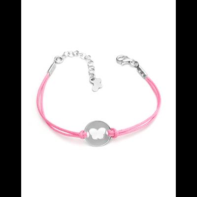 Bracelet cordon Papillon