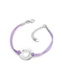 Bracelet cordon Cœur