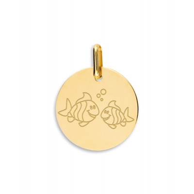 la-fabrique-d-or-Médaille Poissons