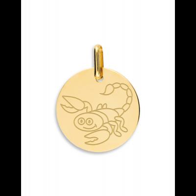 la-fabrique-d-or-Médaille Scorpion