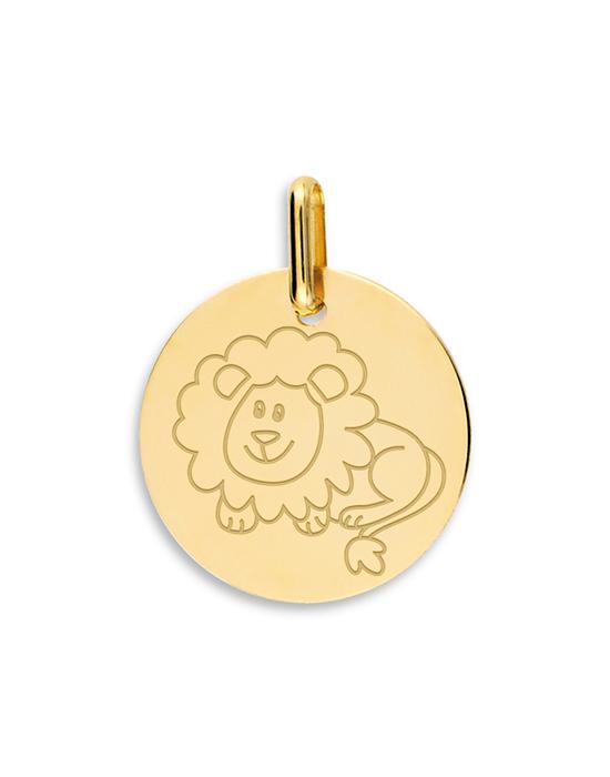 la-fabrique-d-or-Médaille Lion