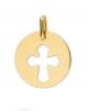 la-fabrique-d-or-Médaille Croix Ajourée