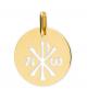 la-fabrique-d-or-Médaille Chrisme ajourée