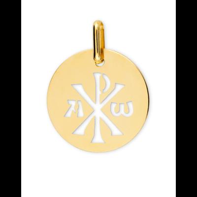 Médaille Chrisme ajourée