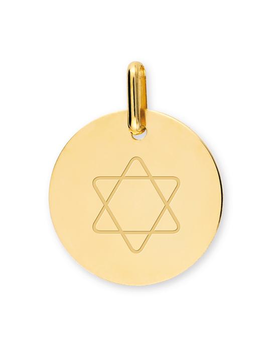 la-fabrique-d-or-Médaille Étoile de David