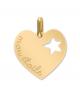 la-fabrique-d-or-Médaille Cœur & Étoile gravé