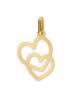 la-fabrique-d-or-Pendentif Deux cœurs