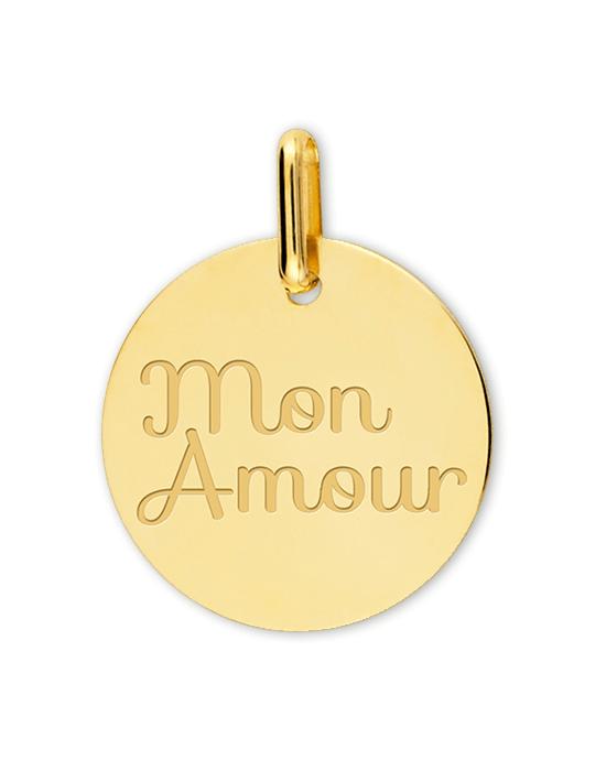 la-fabrique-d-or-Médaille Mon Amour