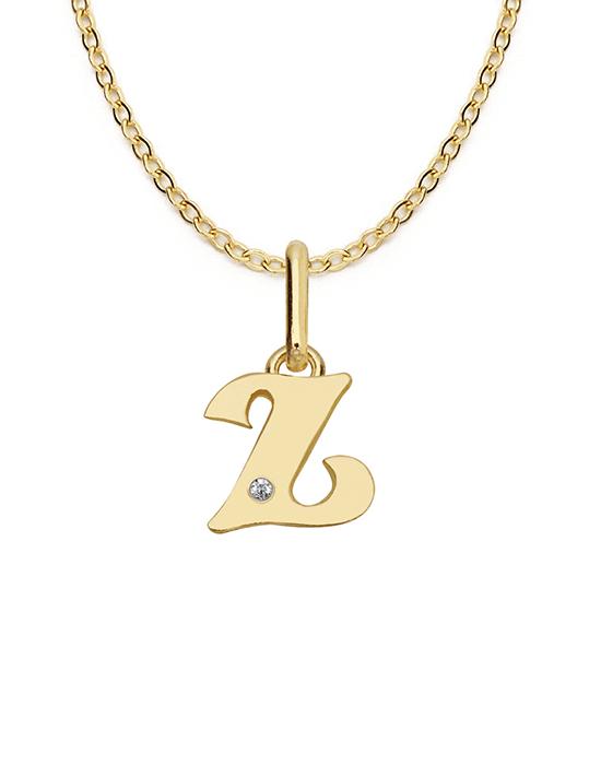 la-fabrique-d-or-Collier Lettre en or avec diamant