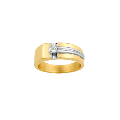la-fabrique-d-or-Bague Homme Or Diamant