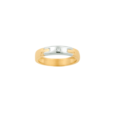 Bague Homme Or Diamant