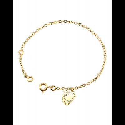 Bracelet breloque Papillon