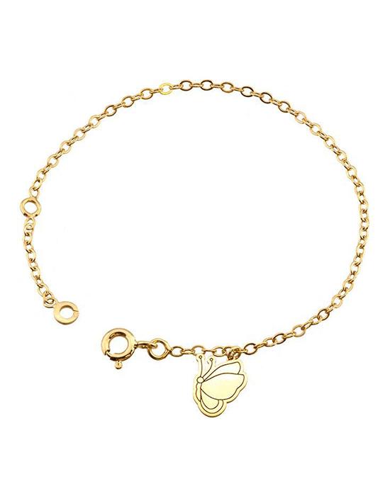 la-fabrique-d-or-Bracelet breloque Papillon