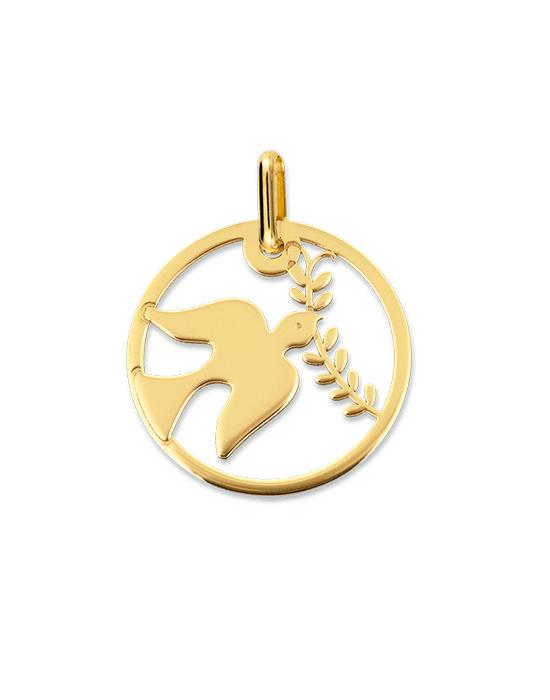 la-fabrique-d-or-Médaille Colombe