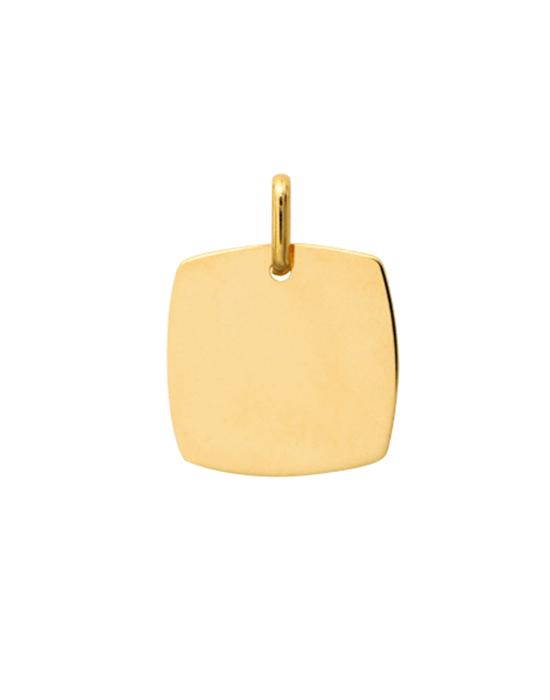 la-fabrique-d-or-Médaille Carré Arrondi