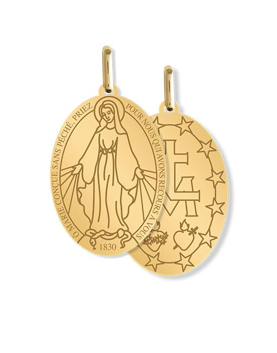 la-fabrique-d-or-Médaille Vierge Miraculeuse