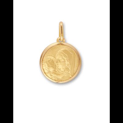 la-fabrique-d-or-Médaille Vierge à l'Enfant Jésus