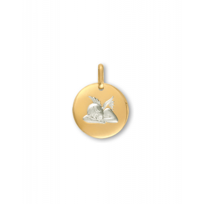 la-fabrique-d-or-Médaille Ange galet