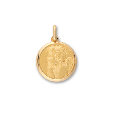 la-fabrique-d-or-Médaille Ange Pensif
