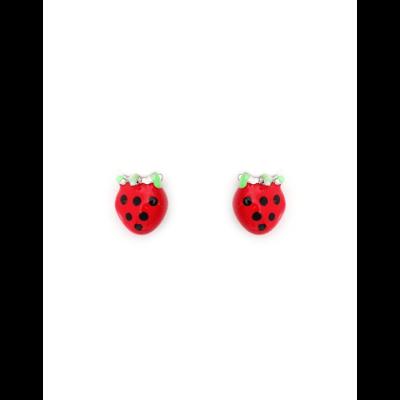 Boucles d'Oreille fraises