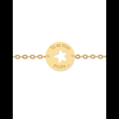 la-fabrique-d-or-Bracelet Femme Tu es mon Étoile