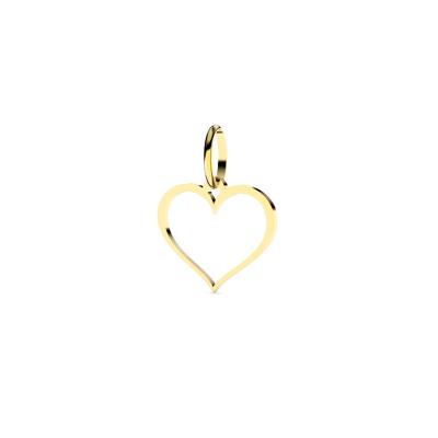 Pendentif Coeur ajouré prénom personnalisable
