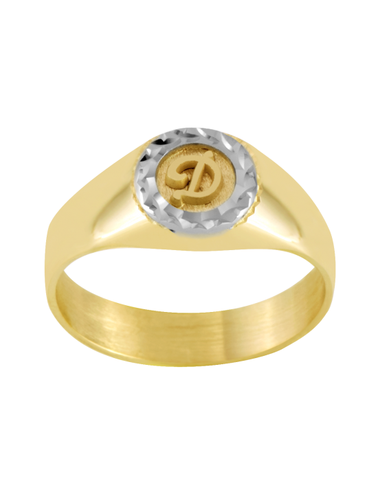 la-fabrique-d-or-Chevalière Or Ronde Bicolore
