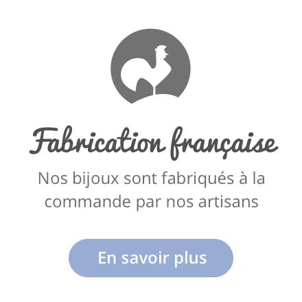 Fabrication française bijoux or